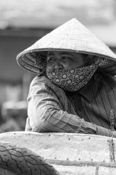 La vida en el Delta del Mekong, Vietnam.